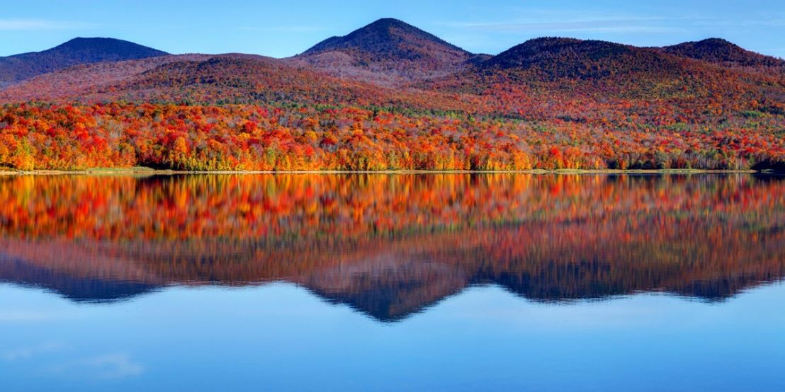 New England Summer and Fall Foliage