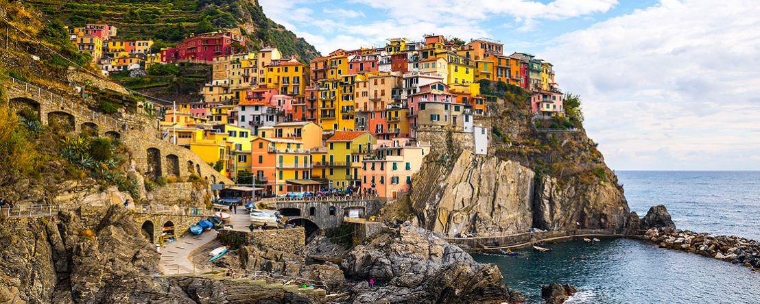 Northern Italy's Highlights & Cinque Terre 2019 - 10 days from Milan to Milan