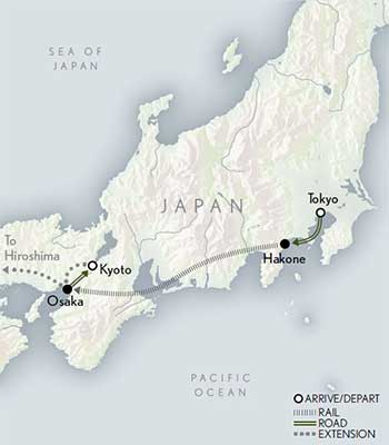 Map for Classic Japan
