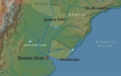 Map for Classic Buenos Aires