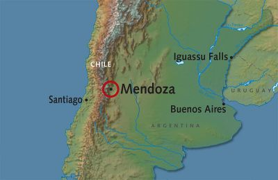 Map for Mendoza