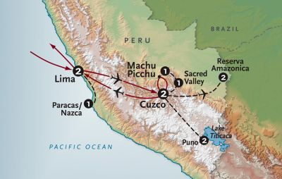 Map for Peru In-Style