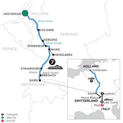 Avalon Waterways - Romantic Rhine with Mount Pilatus, 1