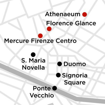 Map for Florence Getaway 3 Nights 2020