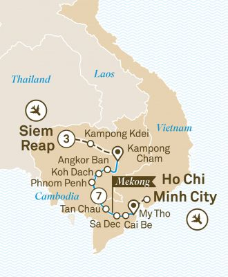 Scenic Cruises - Luxury Mekong & Temple Discovery Cruise (38113)