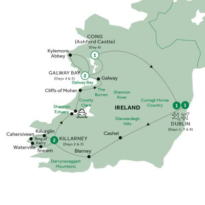 Map for Irish Elegance (Preview 2020)